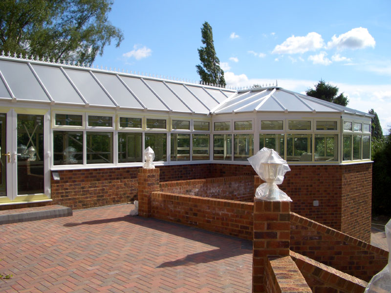 P Shaped Conservatory Installations